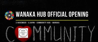 ONE - Wanaka Community Hub Opening Cocktail Function