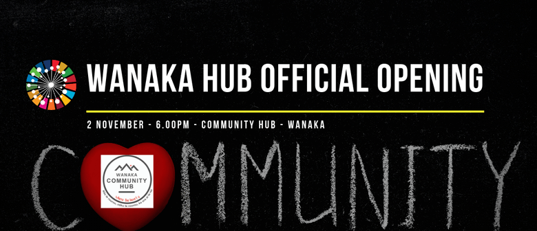 ONE - Wanaka Community Hub Opening Cocktail Function: SOLD OUT