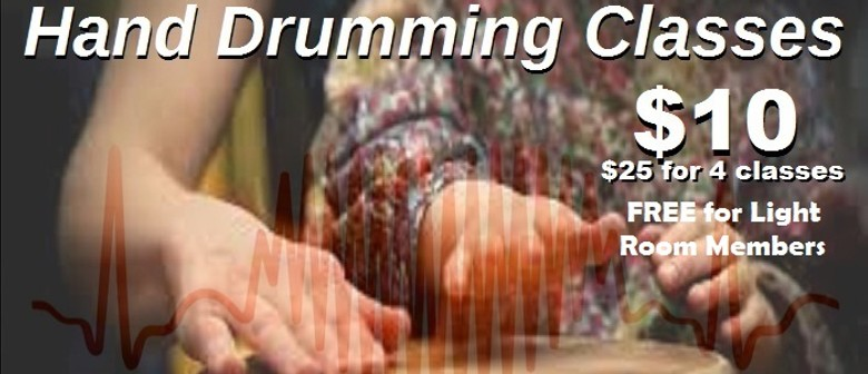 Contemporary Hand Drumming Class with Rayna Love