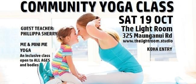 Community Yoga Class: Me & Mini Me Yoga - Phillippa Sherry