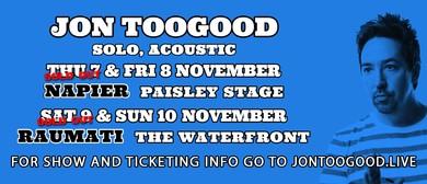 Jon Toogood Solo - Acoustic