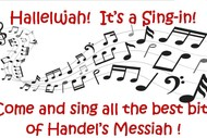 Hallelujah! It's a Messiah Sing-in!