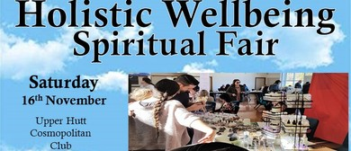 Upper Hutt Holistic Wellbeing Spiritual Fair