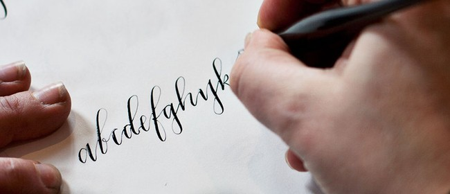 Beginners Calligraphy - With Margaret Wollett