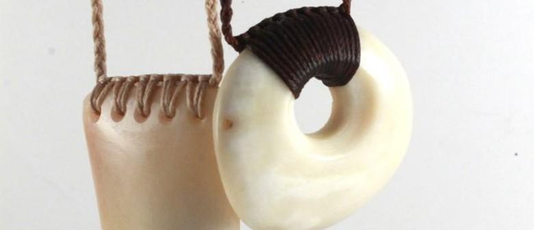 Rei Niho Whale Bone Carving - With Maha Tomo