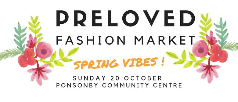 Preloved Fashion Market Spring Vibes Auckland Eventfinda