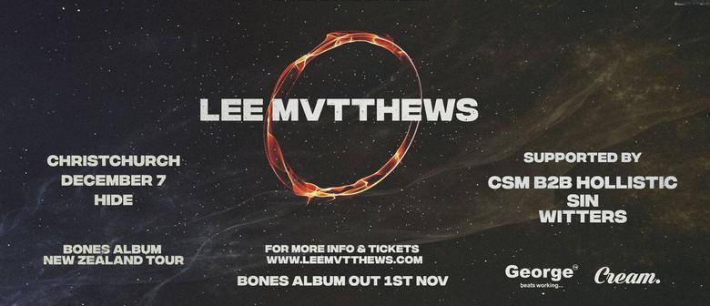 Lee Mvtthews Bones Album Tour