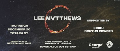 Lee Mvtthews Bones Album Tour