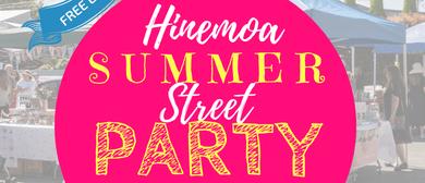Hinemoa Summer Street Party
