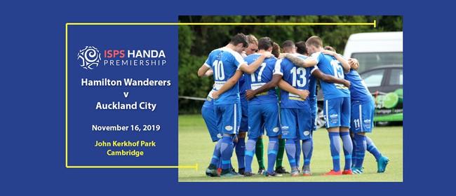 Hamilton Wanderers v Auckland City (National League)