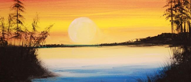 Paint & Chill Night - Golden Sunset