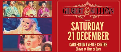 The Christmas Gilbert & Sullivan Show