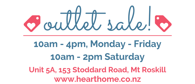Heart + Home Gift & Homewares Outlet Sale