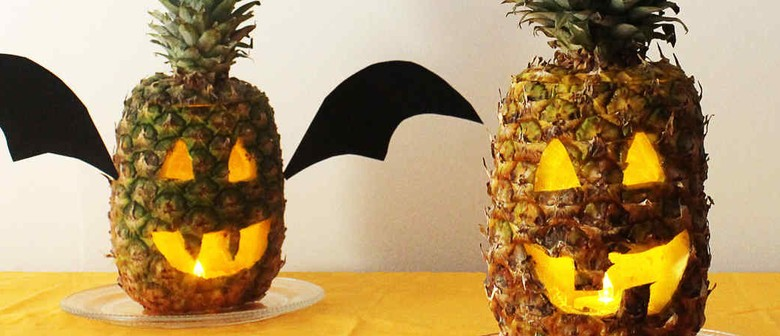Hulaween: A Pineapple Carving + Cocktail Party