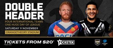 GB Rugby League Lions v NZ / Fiji v PNG