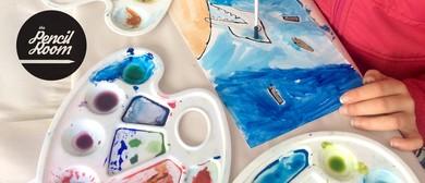 Kids Art Classes 5-7 Years