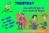 Mulligans Open Mic Night Live Music