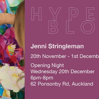 Hyperbloom by Jenni Stringleman Exhibition
