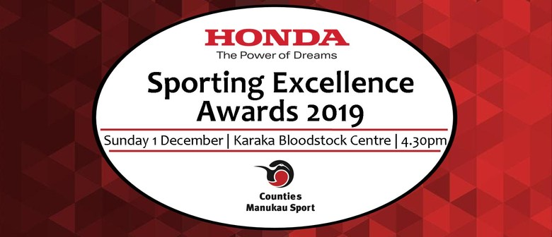 Counties Manukau Sporting Excellence Awards 2019