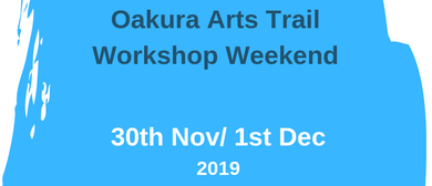 Oakura Arts Trail Workshop Weekends