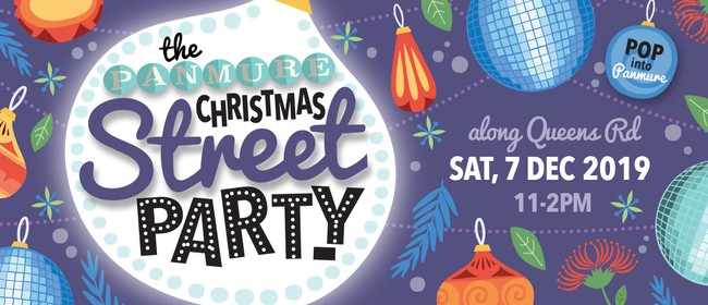 The Panmure Christmas Street Party 2019