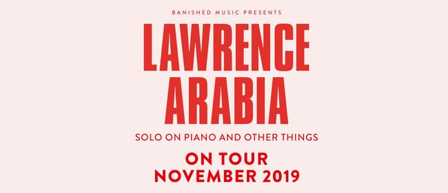 Lawrence Arabia - Single NZ Tour