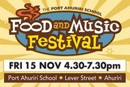 The Port Ahuriri School Food and Music Festival