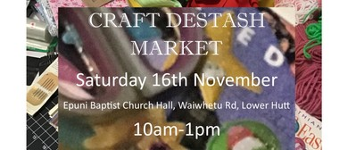 Craft Destash Market