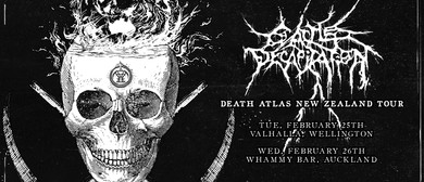 "Cattle Decapitation ""Death Atlas"" Tour Auckland"