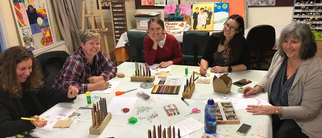 Womens Art Therapy Group for Empowerment and Wellbeing