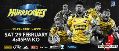 Hurricanes v Sunwolves
