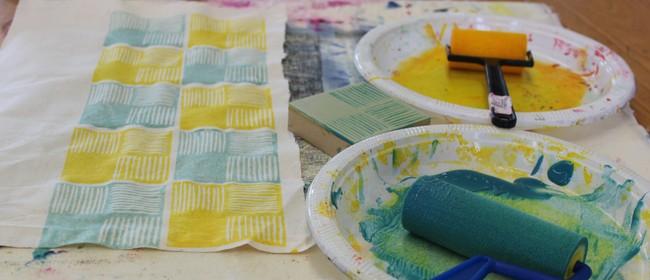 Studio One Toi Tū - Textile Block Printing: CANCELLED