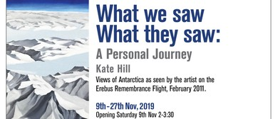 What We Saw, What They Saw: A Personal Journey