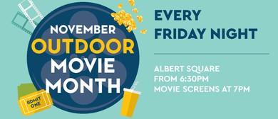 Outdoor Movie Month