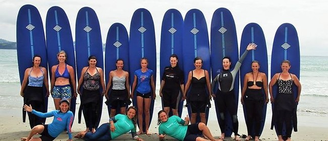Girls on Curls Ladies Surf Weekends