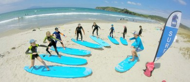Kids Surf 3 Day Holiday Programs