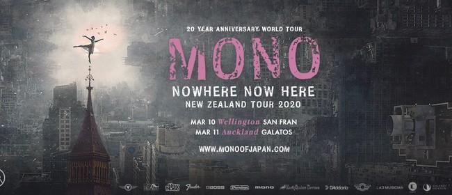 Mono - Nowhere Now Here NZ Tour