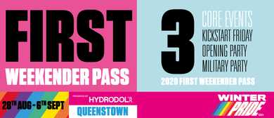 First Weekender Event Pass Winter Pride '20