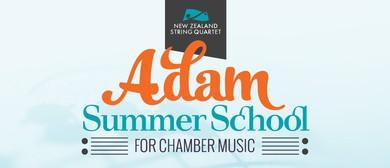 Finale Concerts - 2020 Adam Summer School