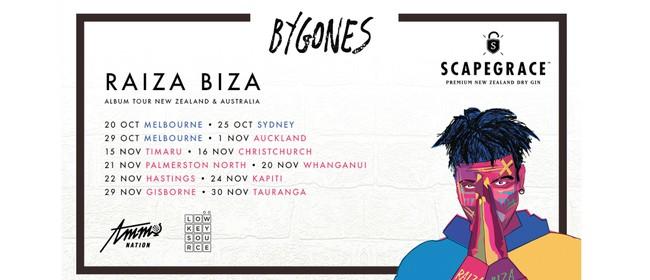 Raiza Biza Bygones Album Tour - Palmerston North