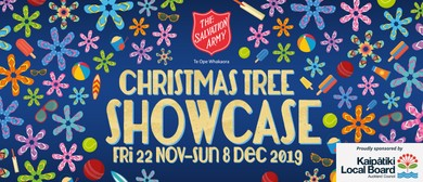 'Christmas Tree Showcase' - The Salvation Army