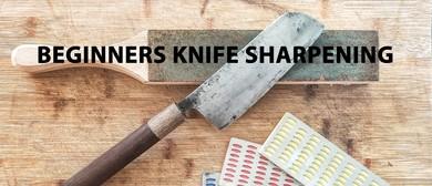 Beginners Knife Sharpening Class
