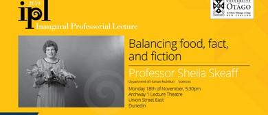 Inaugural Professorial Lecture – Professor Sheila Skeaff