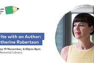 Write With an Author: Catherine Robertson