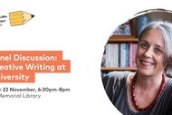 Panel Discussion: Creative Writing at University