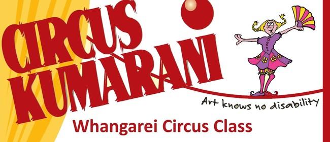 Circus Kumarani Whangarei Class