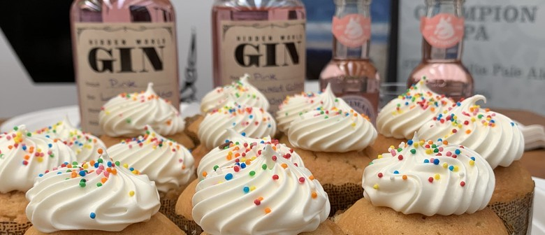 Gin afternoon tea with The Dessert Experience