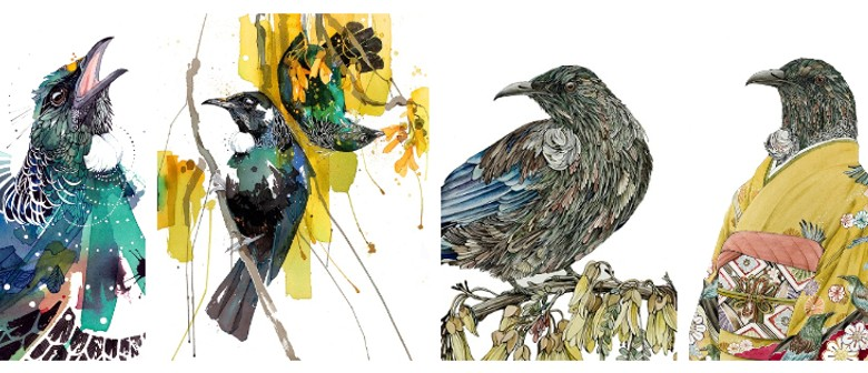 Rachel Walker & Rika Nagahata - Ink & Watercolours