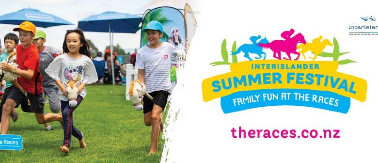 Interislander Summer Festival Reefton Family Races