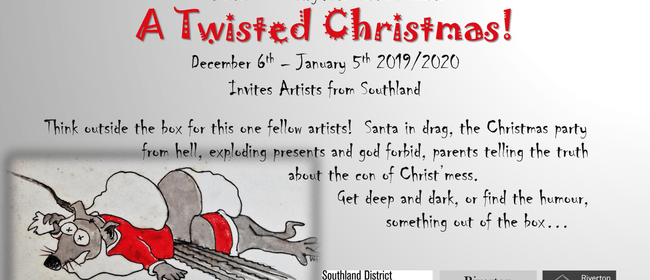 Twisted Christmas Art Exhibition